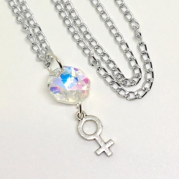Jewelry Iridescent Venus Symbol Necklace Poshmark